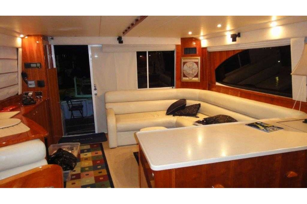2004 Riviera 58' Enclosed Bridge