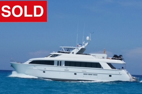 100' Hatteras 'Emily' SOLD!