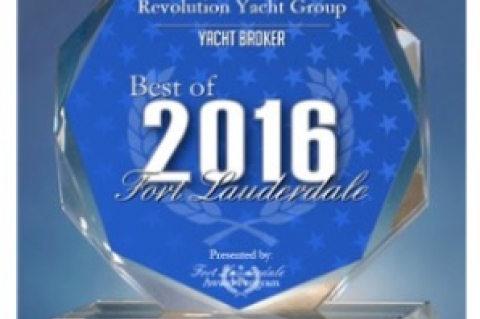 Revolution Yacht Group Receives 2016 Best of Fort Lauderdale Award